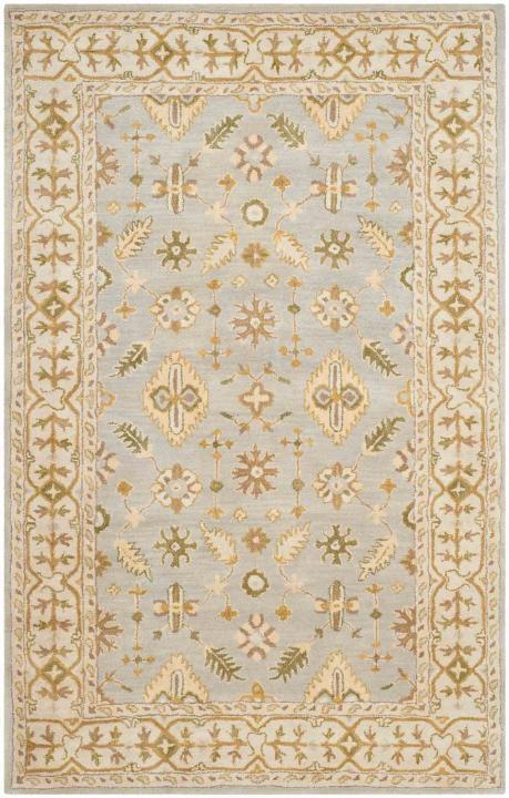 classic rugs light blue/ ivory VJOXFDV