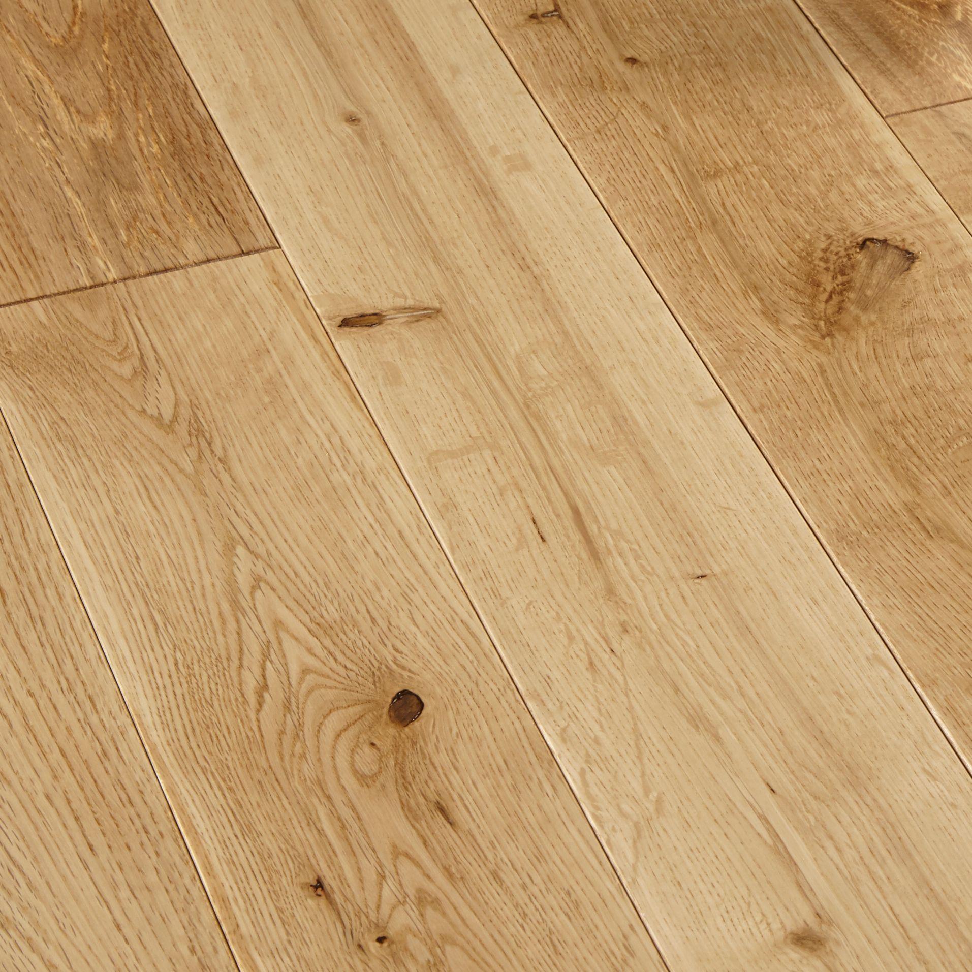 colours rondo natural solid wood flooring 1.296 m² | departments | diy at PJAYZNG