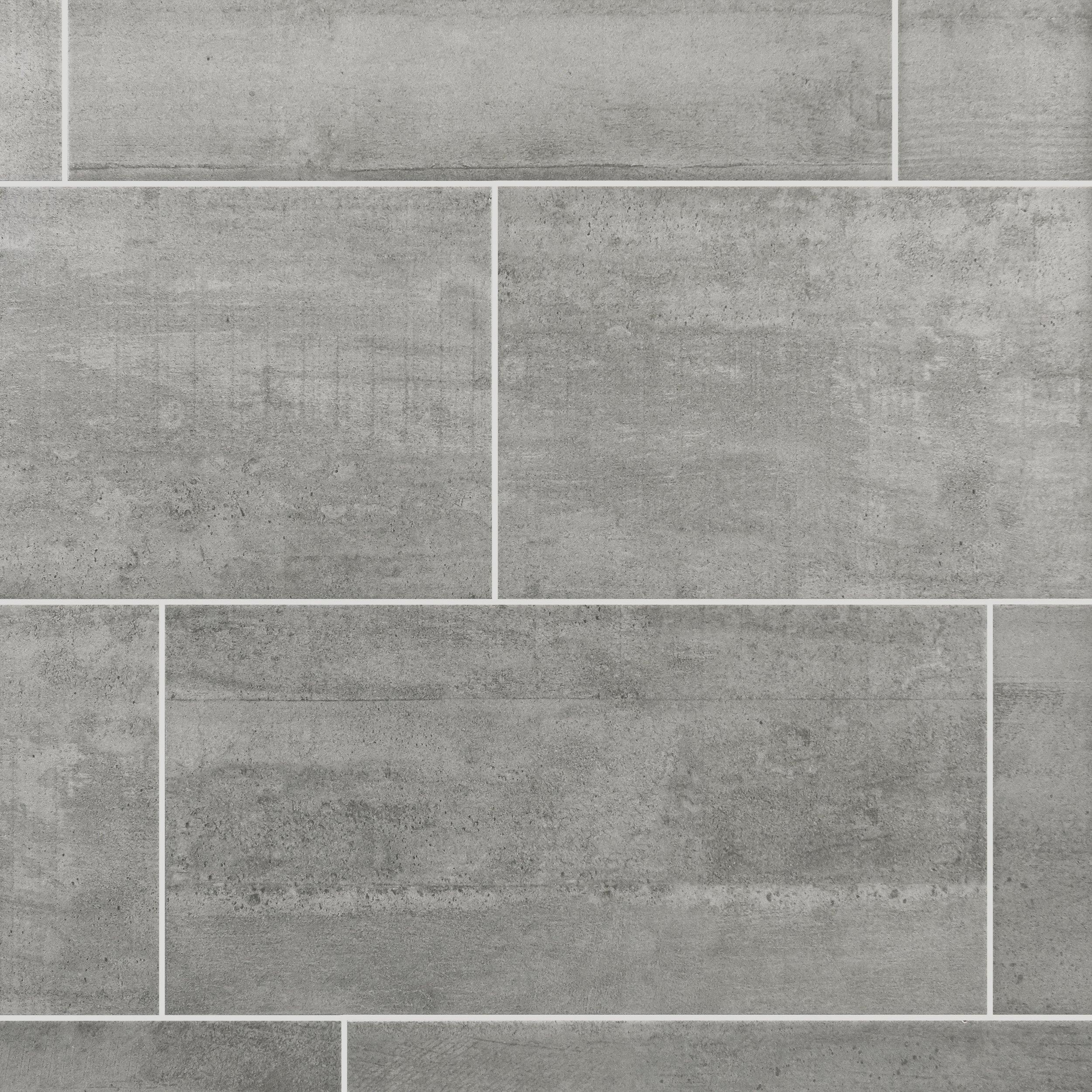 concrete gray ceramic tile EGXYJVO