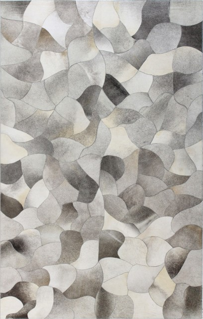 contemporary area rugs jada gray cowhide area rug, ... NOXONQT