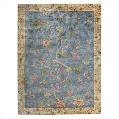 contemporary rugs garden farms u002703 blue contemporary rug XWBPDWA