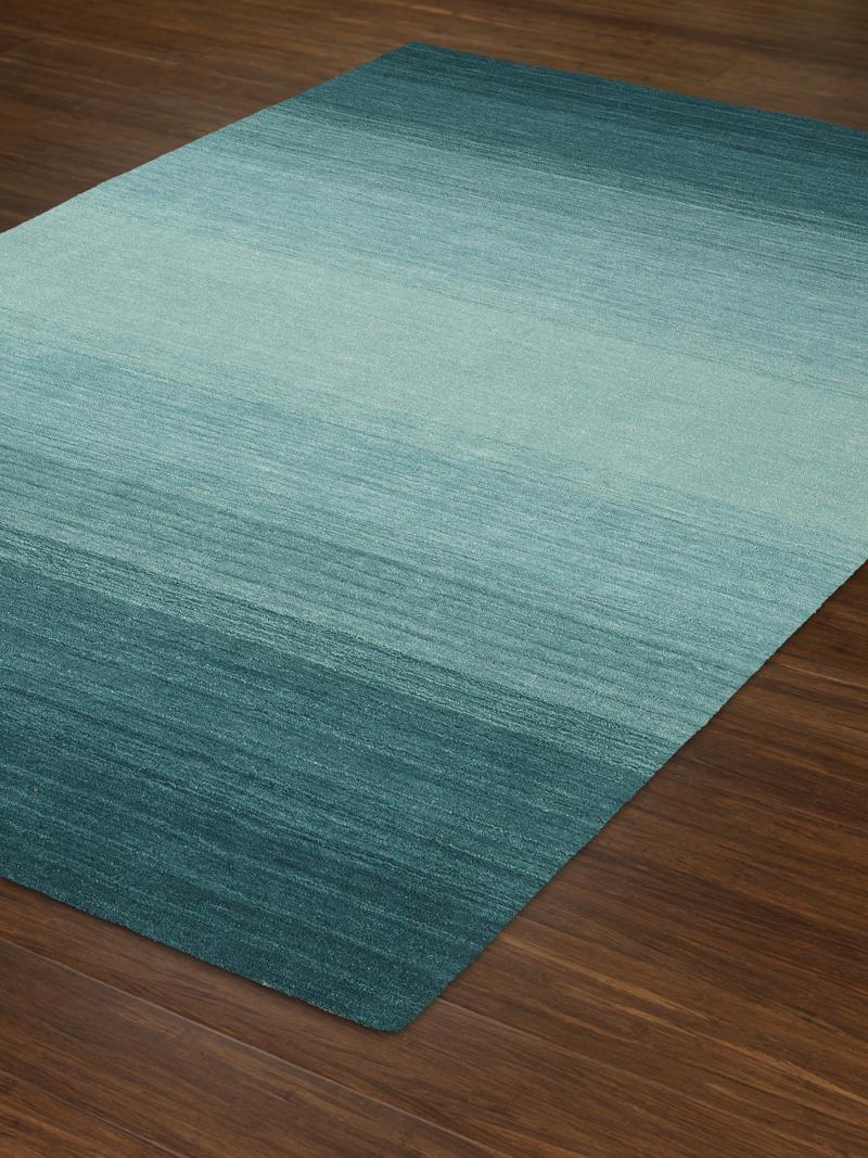 dalyn torino teal area rug | hand loomed rug AXSIUGA