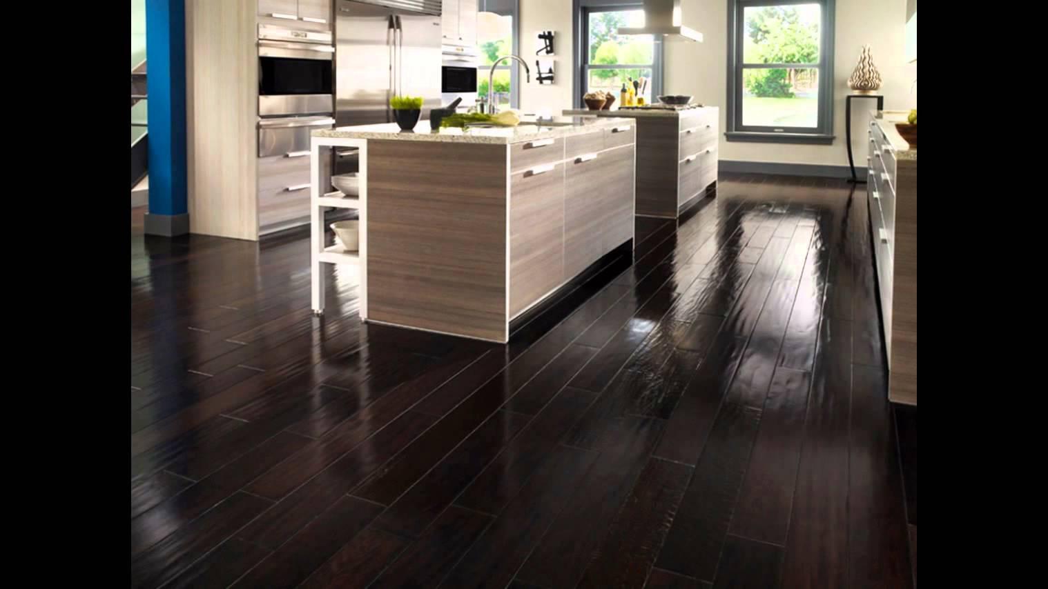 dark hardwood floors | dark hardwood floors and dark kitchen cabinets IYLXODF