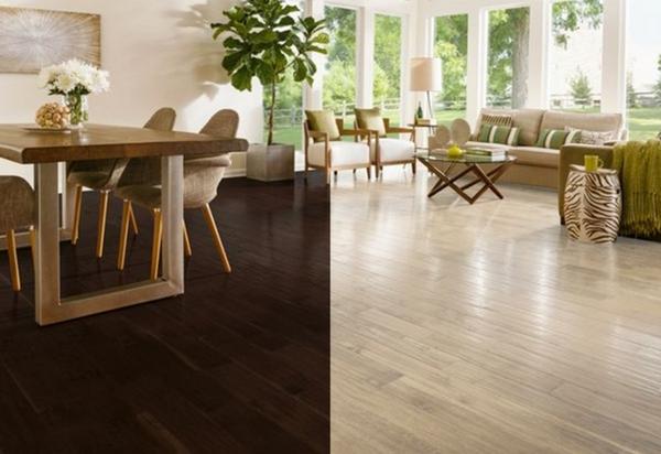 dark hardwood floors dark vs light hardwood flooring pros and cons RNWLDVC