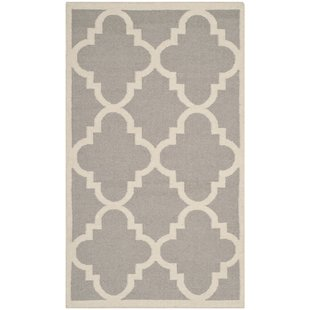 dhurrie rugs dhurries dark grey/ivory area rug PGYVVSF