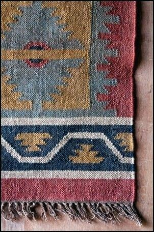 dhurrie rugs exquisite interior architecture guide: impressing durrie rugs in early 20th  century indigo GVTXSQW