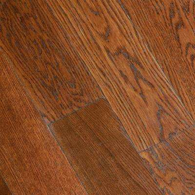 engineered flooring gunstock oak 3/8 in. thick x 5 in. wide x varying length FMHGYIA