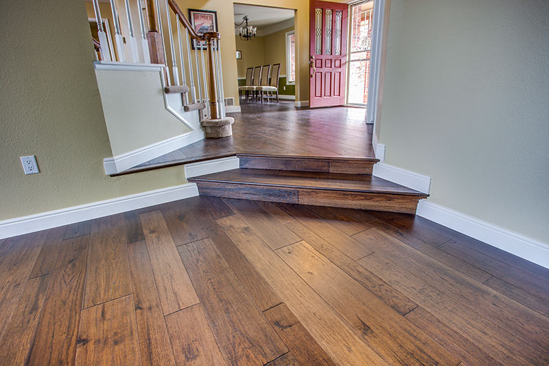 engineered hardwood flooring featured in denver remodel RBEXIUY
