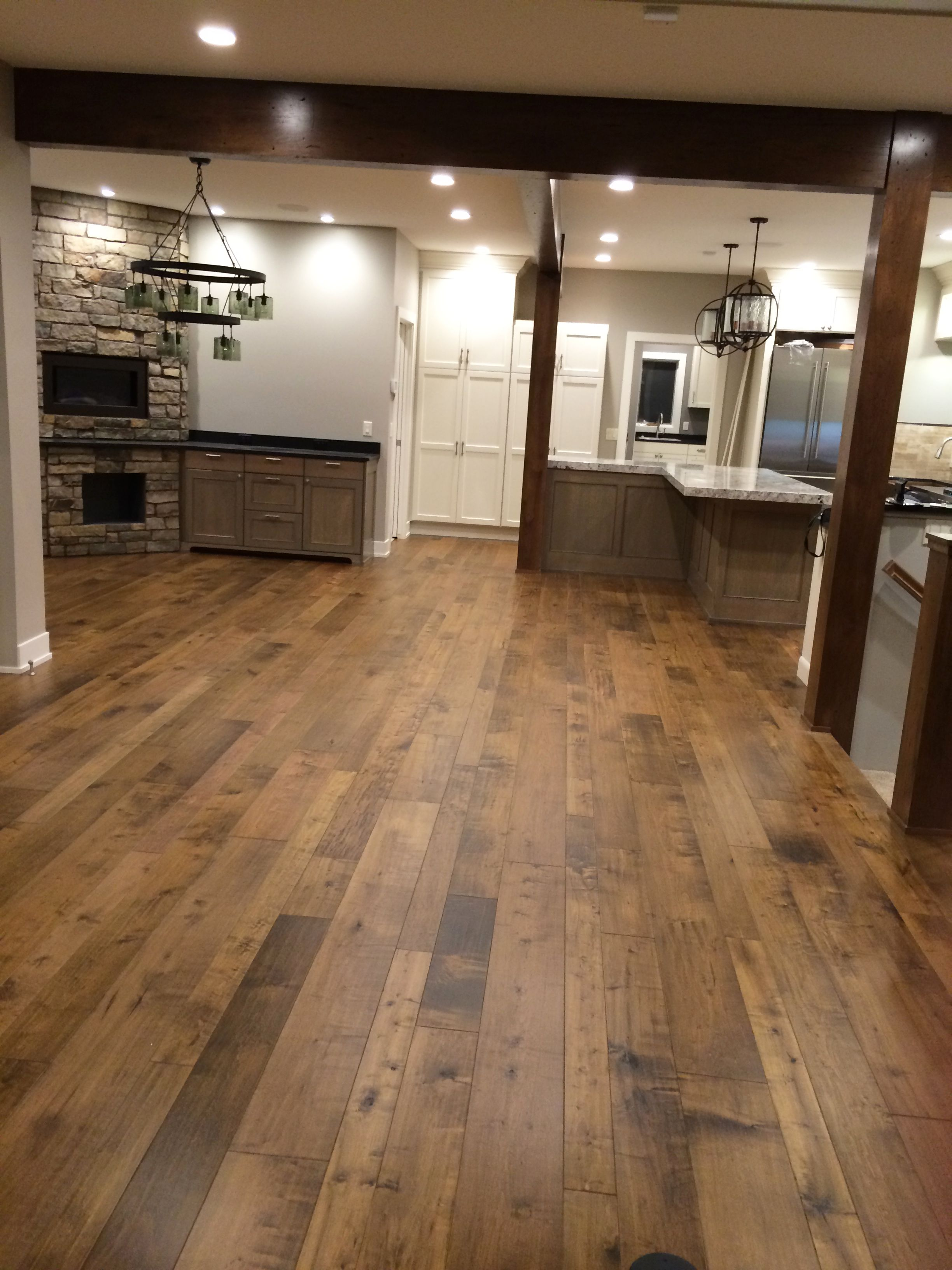 Engineered Hardwood Floors The Were Purchased From Carpets Direct And Installed By Fulton Construction