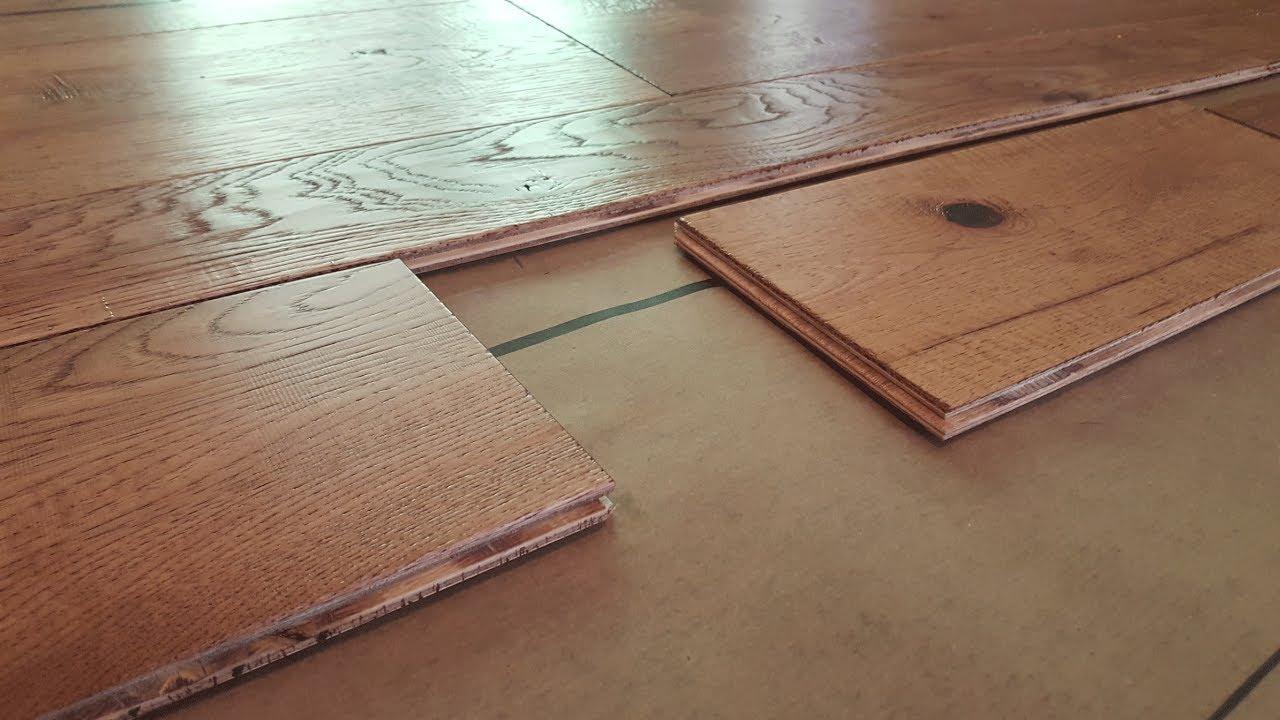 Engineered wood flooring how to install engineered hardwood flooring WCBONOP