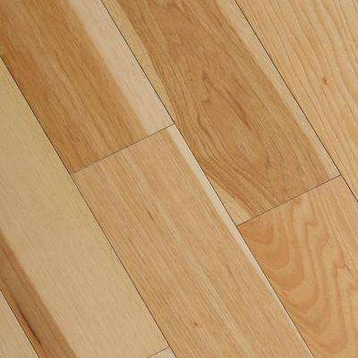 Engineered wood flooring wire brushed natural hickory 3/8 in. t x 5 in. wide x HCGOUEC