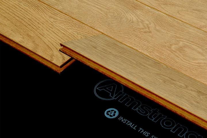 floating floors hardwood installation via the locknfold method XWHROWR