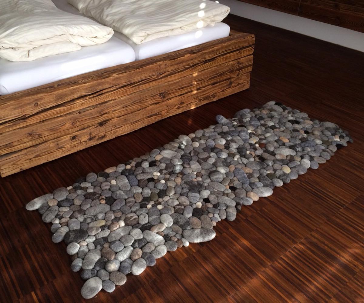 floor rugs felt stone area rugs ... CBTYDCR