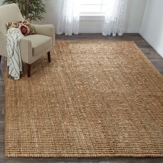 floor rugs safavieh handwoven casual thick jute area rug - 6u0027 ... HSLPVDC