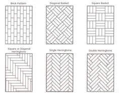 flooring installation patterns a guide to parquet floors patterns and more - hadley court ICDDXXT