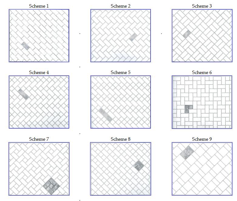 flooring installation patterns tile installation pattern ideas from the floors up NXHWVPC
