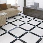 Various flooring tiles