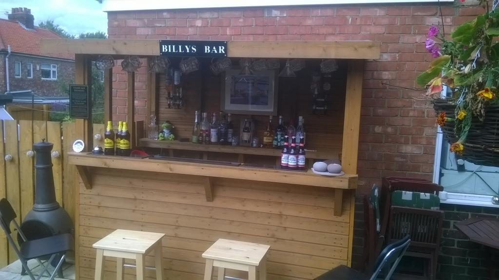 Garden bar garden bars shed pubs bring your local home XRJAEJV