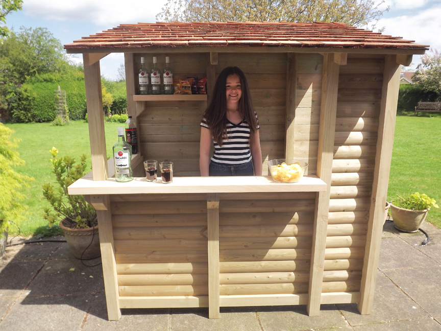 Garden bar log stores garden bars oak fire surrounds tanglewoodcedar regarding bar  prepare 1 QGBXRFB
