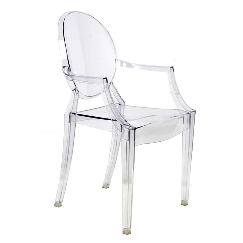 ghost chairs ghost chair with arms KAXQDOW