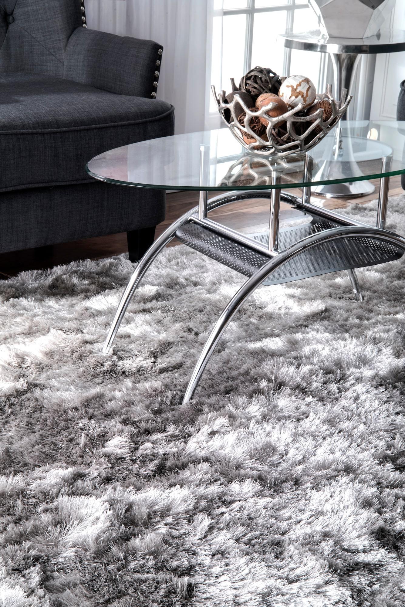 glam shag rug hand-loom glam shag silver grey charcoal area rug-gogetglam JRBLKWV