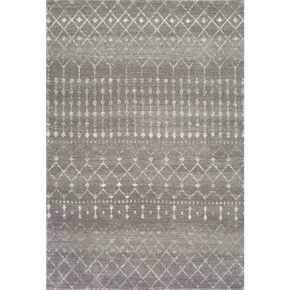 Grey rugs blythe dark grey 5 ft. x 7 ft. area rug SIBMRPA