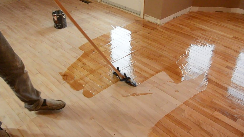 hardwood floor refinishing by trial and error JYPWRHI