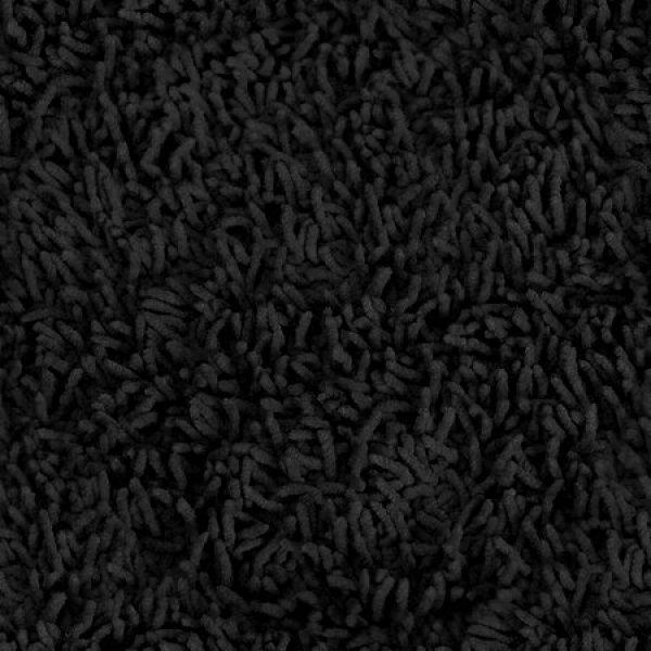 hereu0027s a thick shag black carpet. TGSEXFK