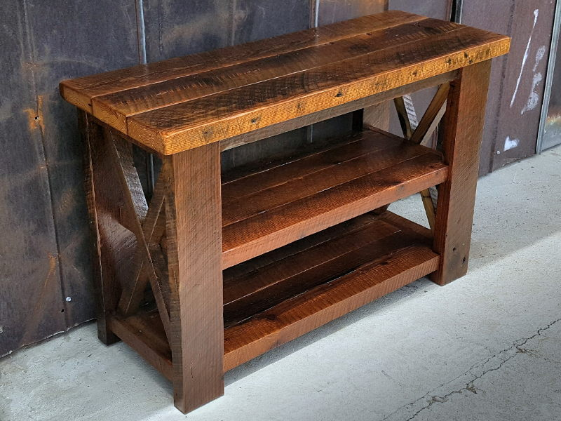 image of: reclaimed wood furniture bay area QVKTVSN