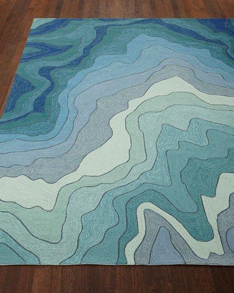 Indoor outdoor rugs mykonos breeze indoor/outdoor rug, ... FVKZJDF