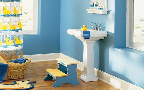 Kids Bathroom 18 cool blue kids bathroom design ideas UCWGVFU