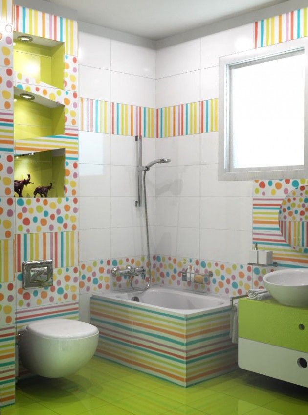 Kids Bathroom 30 colorful and fun kids bathroom ideas XULQMGL