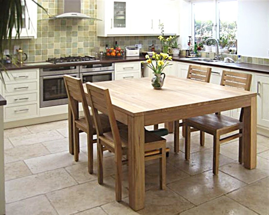 Kitchen and Dining Room Tables classic square dining table with leaf XBPZVKE