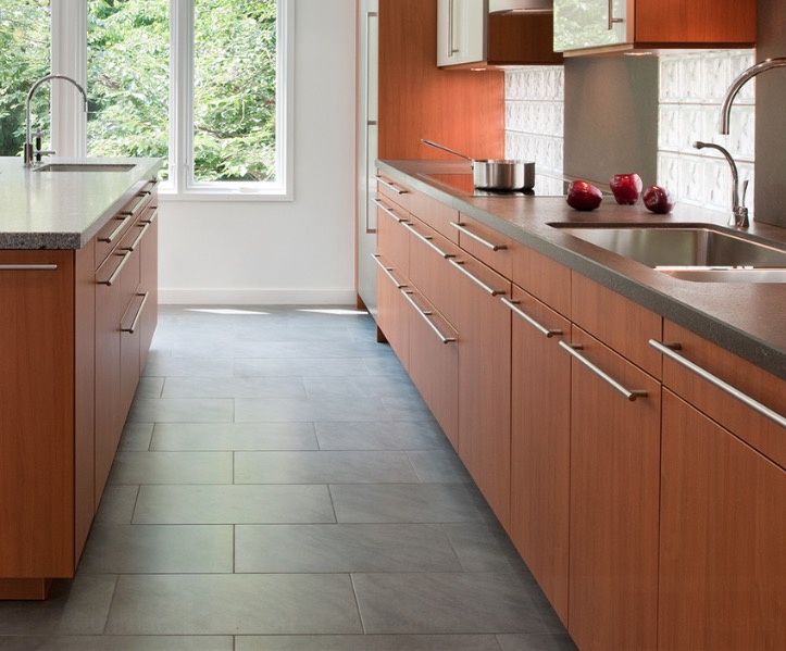 kitchen flooring ideas and materials - the ultimate guide YXVGVPX