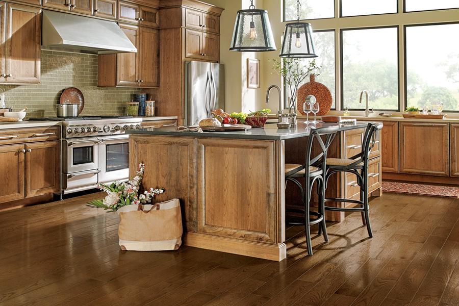 kitchen flooring solid hardwood flooring for kitchen - paragon collection sakp59h202 WUFSAUR