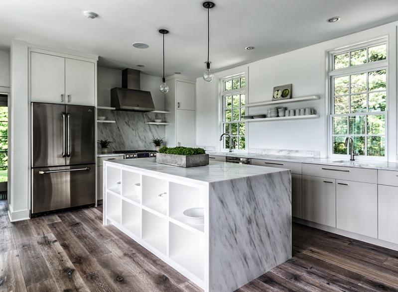 kitchen floors distressed wood KFJPJGH