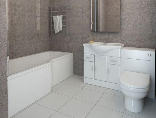 L shaped bath l shape shower bath bathroom suite with vanity furniture | bathroom suites KEXPNVU