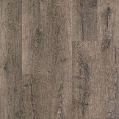 Laminate hardwood flooring outlast+ vintage pewter oak 10 mm thick x 7-1/2 in. wide JBSYJCT
