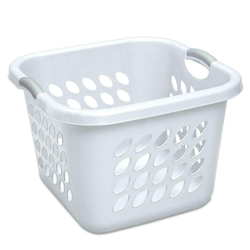 Laundry Basket amazon.com: sterilite 12178006 laundry basket, 19 XZVPFOT