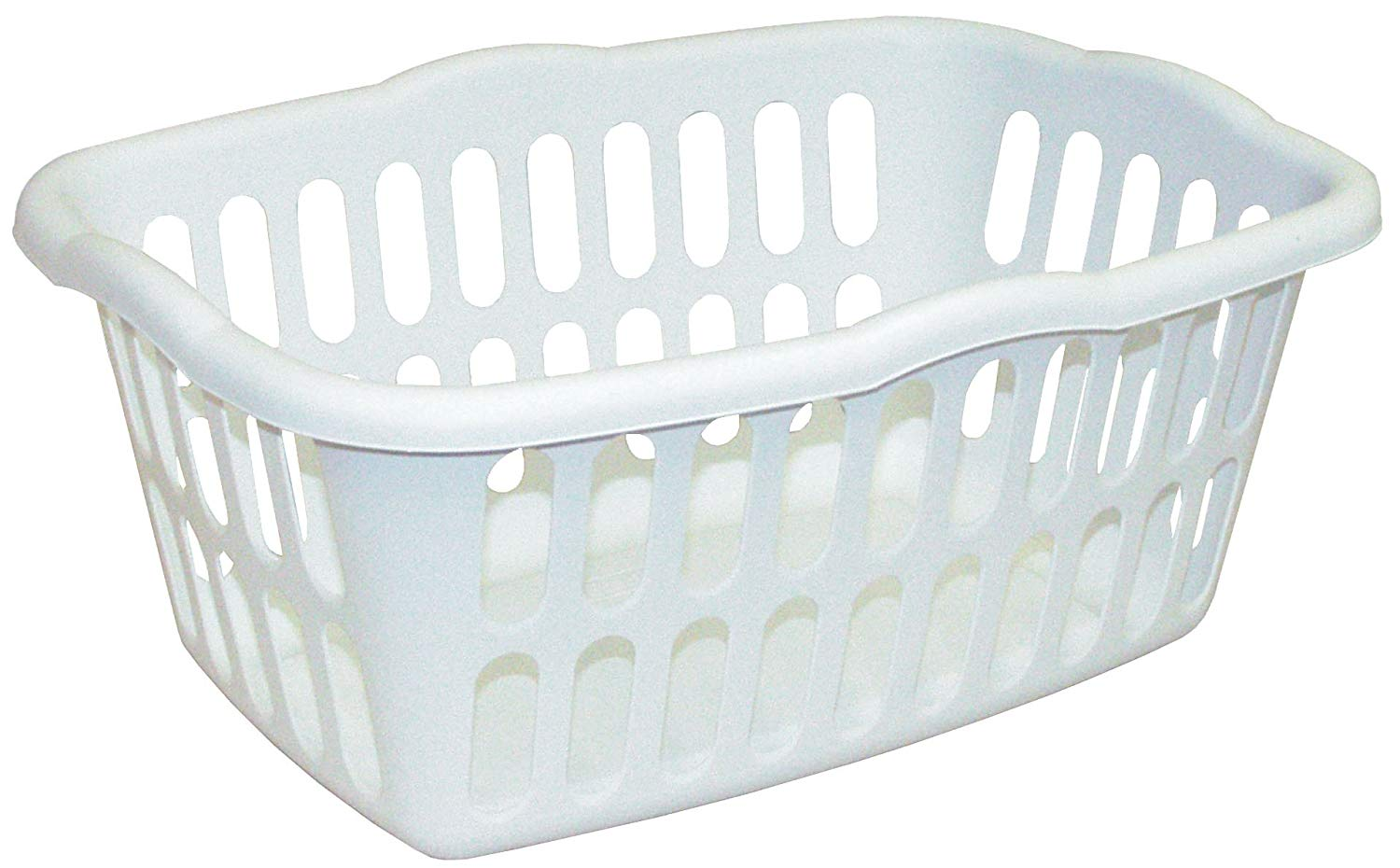 Laundry Basket amazon.com: sterilite rectangular laundry basket, white: home u0026 kitchen PSHQNTO