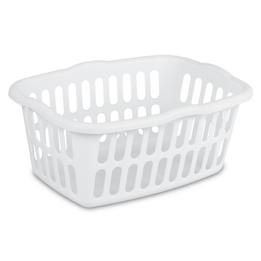 Laundry Basket sterilite 1.5 bushel laundry basket XZPEMUQ