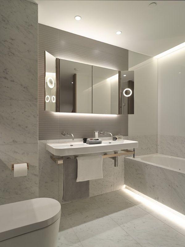 Led Bathroom Lighting glamorous modern bathroom lights 2017 design light intended for led plan 5 UWGYWHI