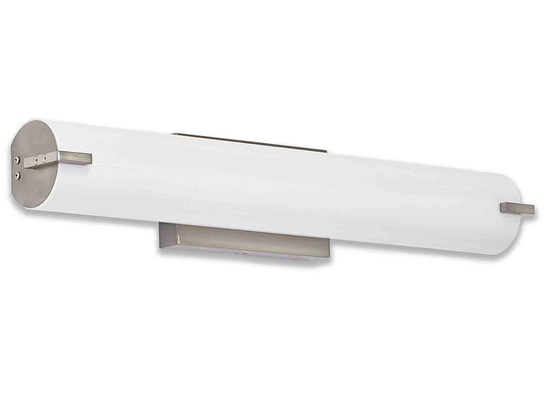 Led Bathroom Lighting new modern frosted bathroom vanity light fixture | contemporary sleek  dimmable led GHUXZDV