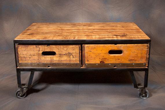 Loft Furniture industrial loft furniture coffee table JFWTHIV