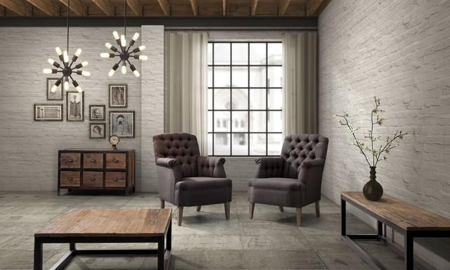 Loft Furniture industrial loft furniture eclectic-living-room QRJGVWM