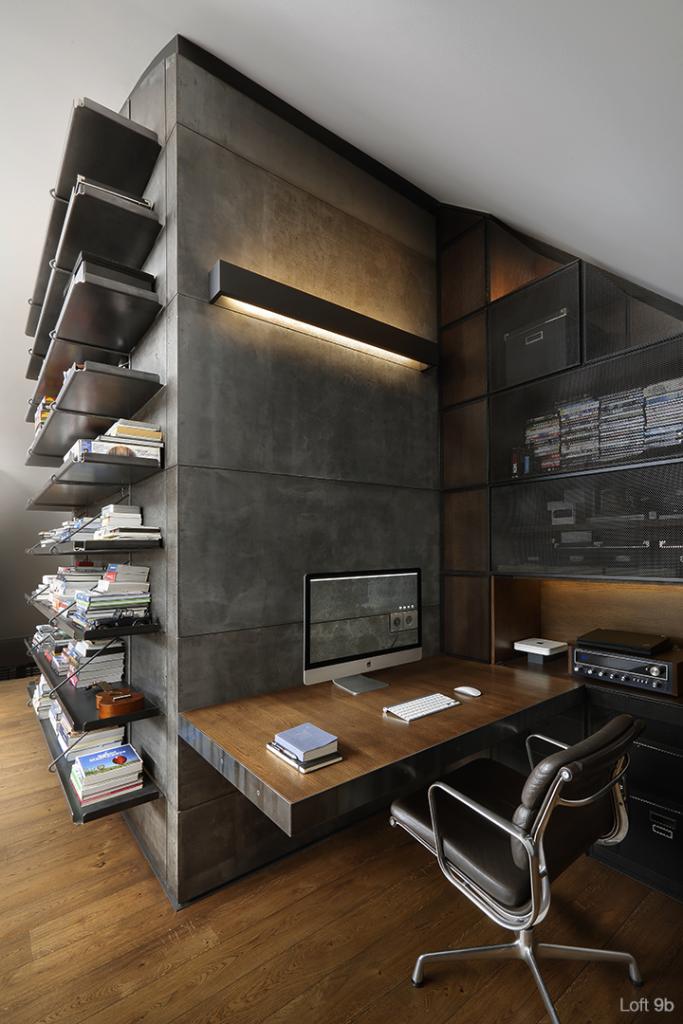 Loft Furniture loft interior furnished with custom designed furniture VLWTWDI