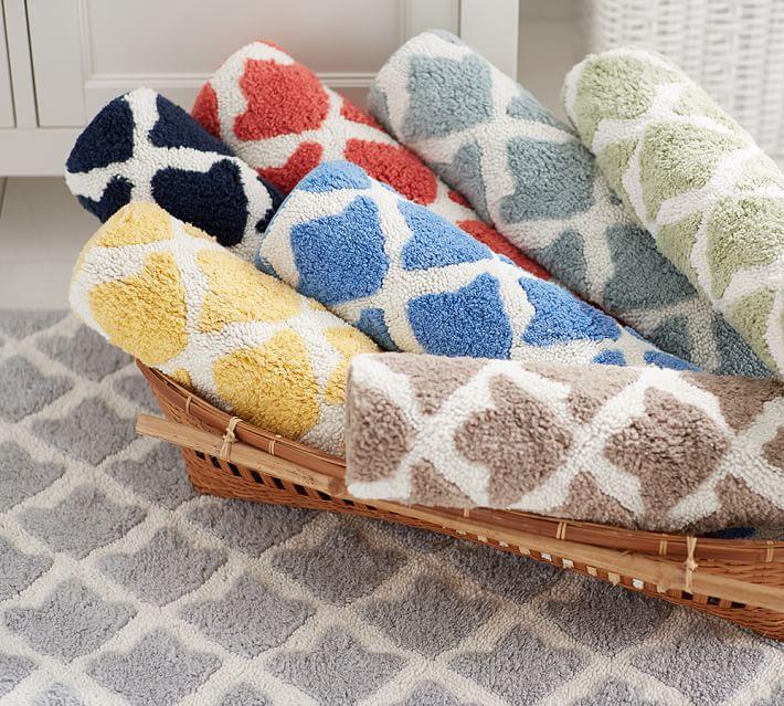 marlo bath rug | pottery barn ESCXVKC