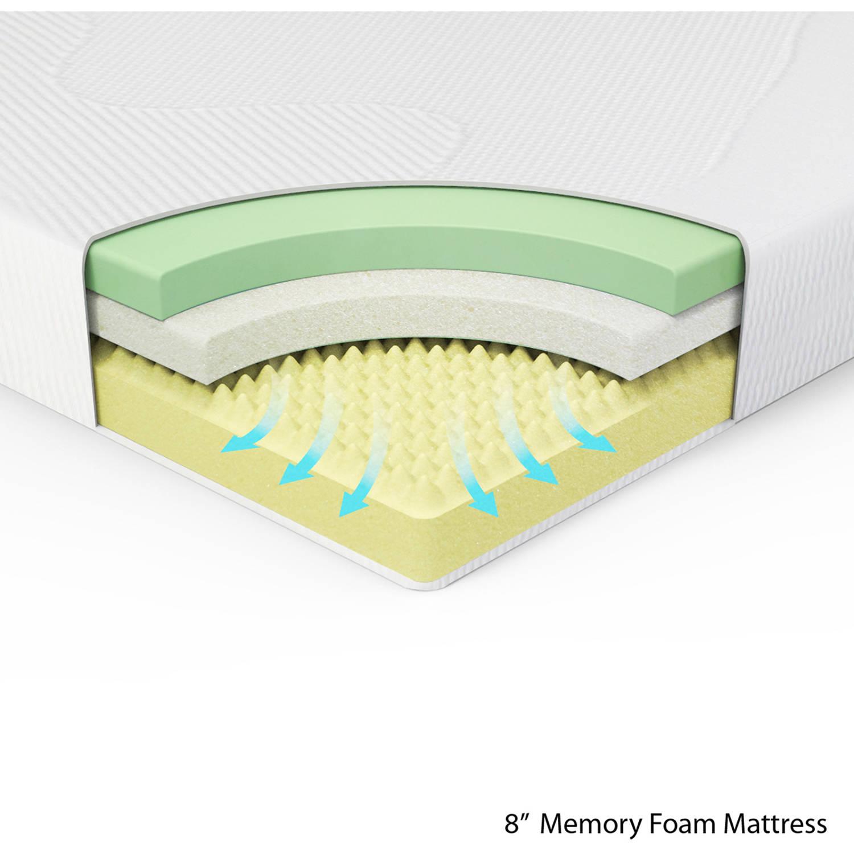 memory foam matress memory foam mattress king sleeping cover thick orthopedic bed frame 8 MSRZLHY