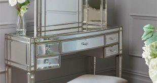 Mirrored Dressing Table antoinette toughened mirror dressing table MMJLKBC