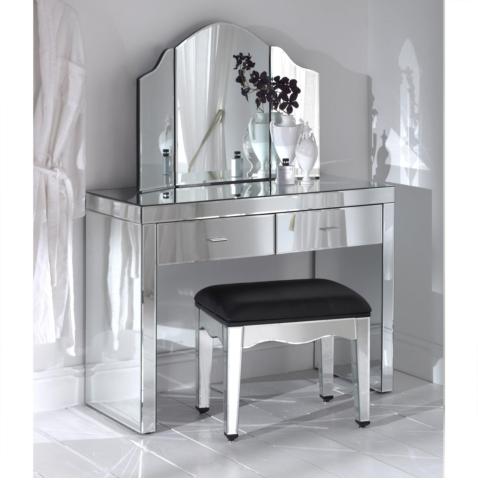 Mirrored Dressing Table romano mirrored dressing table set VIJJDOK